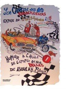 EXPO A RAMBER HUMOUR A L'HUILE DE L'ÉPOPÉE DE NOS BELLES